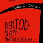 "Theater Zink: ""Der Tod klopft..."" (2011) – Poster"