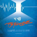 "Theater Zink: ""4.48 Psychose"" (2014) – Poster"