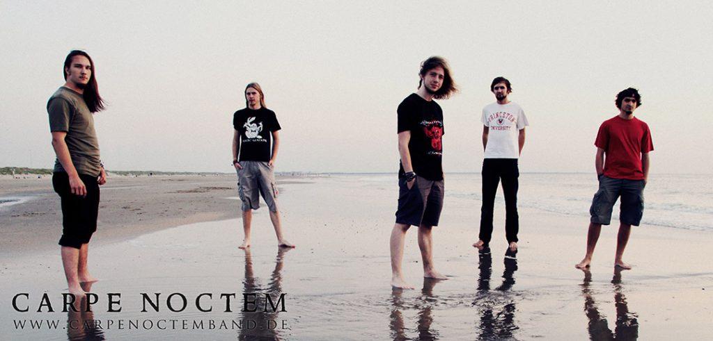 CARPE NOCTEM - die Bandmitglieder