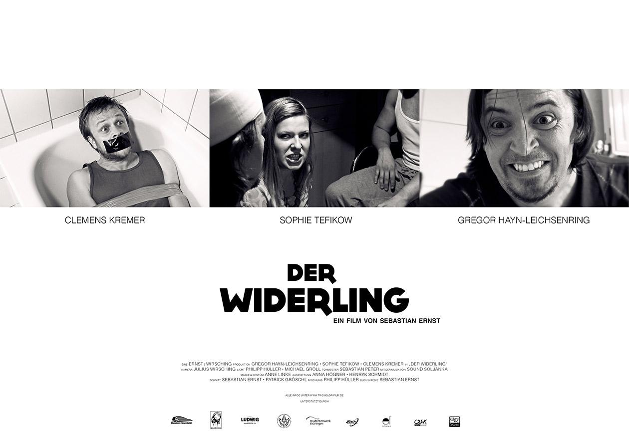 DER WIDERLING (2013) - Poster-03