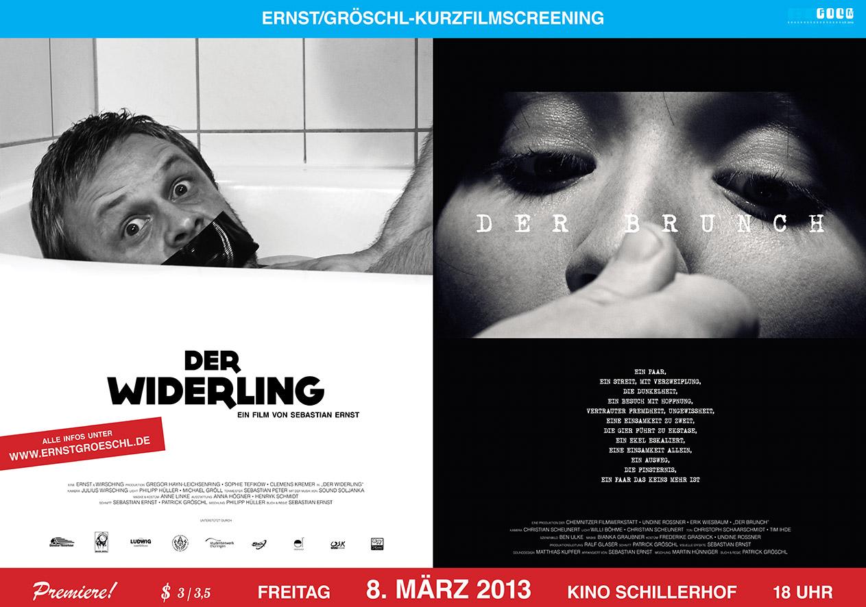 ERNST/GROESCHL-SCREENING (2013) - Poster