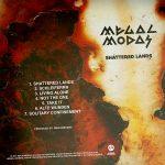 Megalmodas (2011) - Shatterd Lands - Back